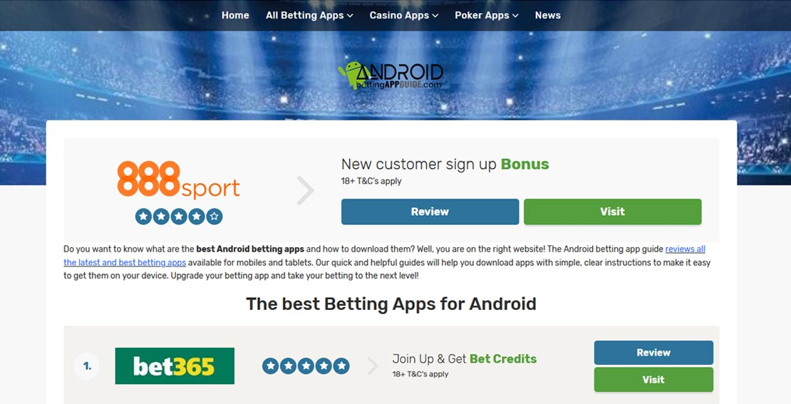 Android Betting App Guide