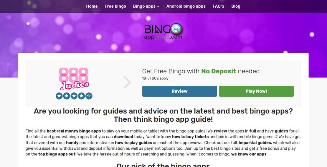 Bingo App Guide