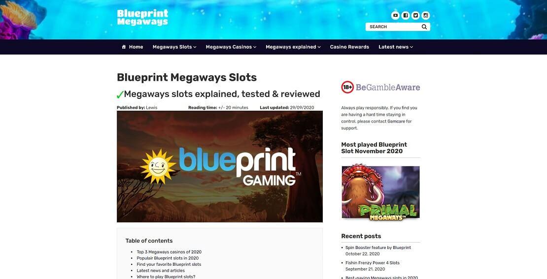 Blueprint Megaways