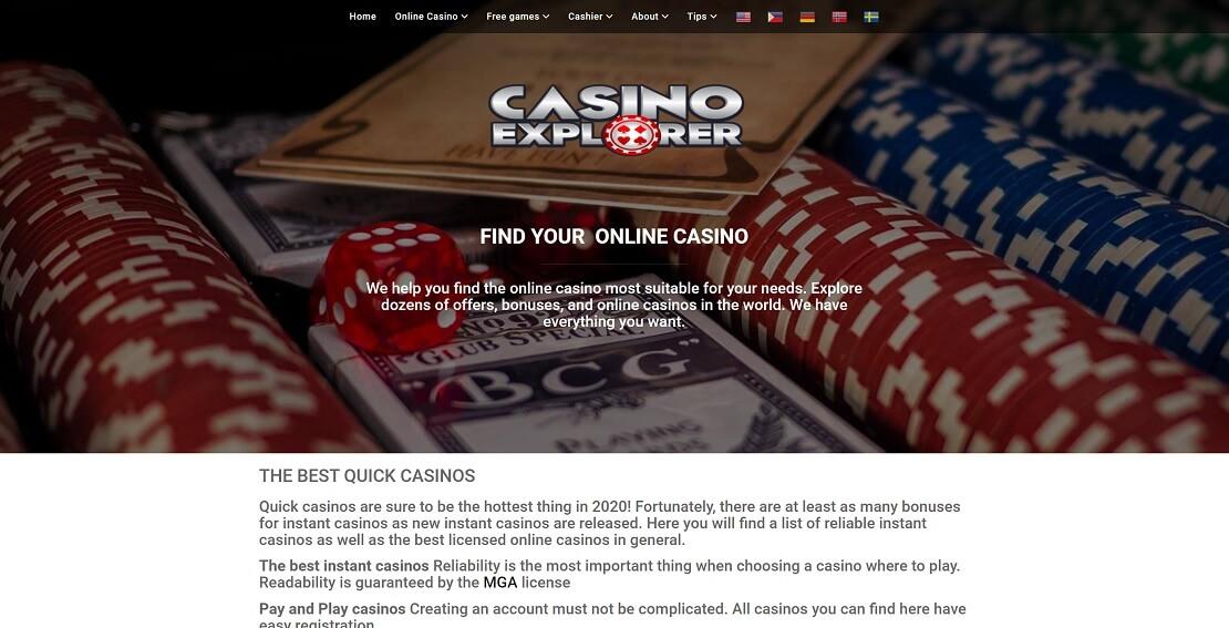 Casino Explorer
