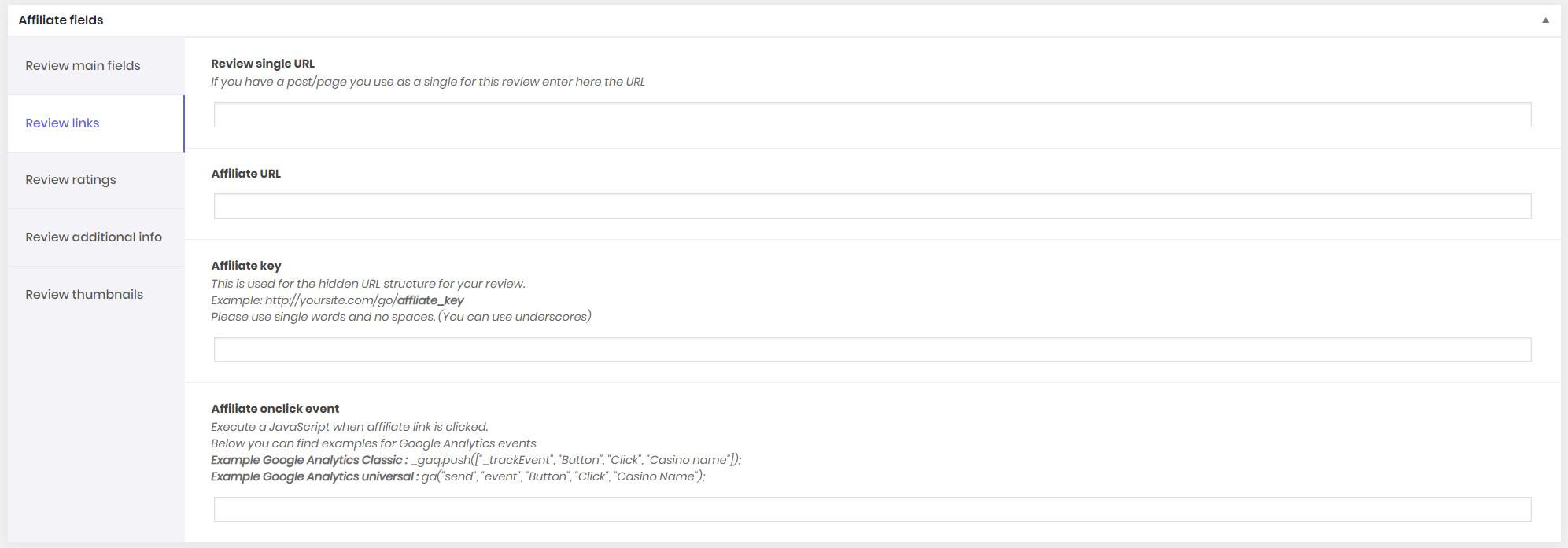 Poka Review Plugin: WordPress Review Plugin with Affiliate