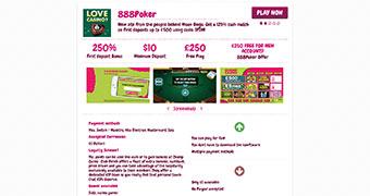PokaCasino Review page