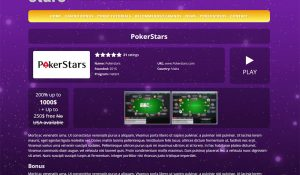 PokaStars Theme Screenshot