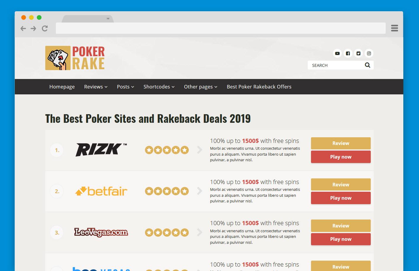 PokerRake