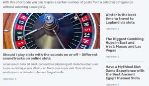 CasinoAce - High CTR Gambling WordPress Theme Screenshot